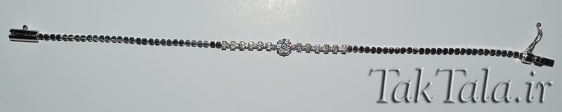 دستبند طلا و جواهر فلاور
