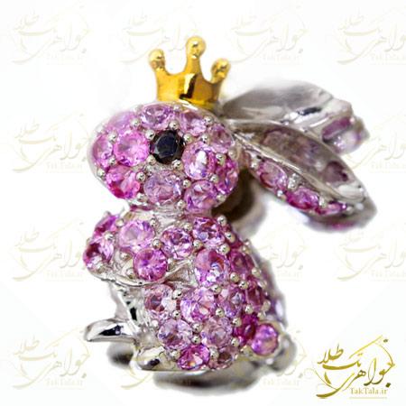 آویز بچه گانه جواهر طرح خرگوش