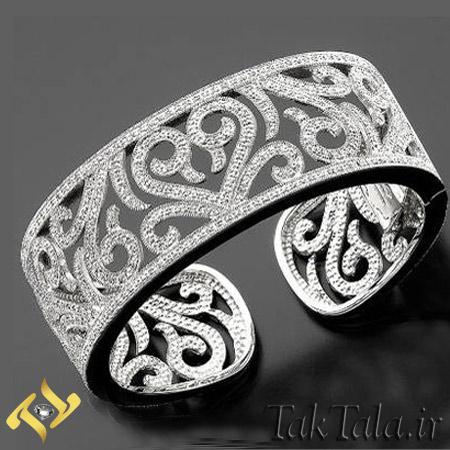 دستبند النگویی جواهر