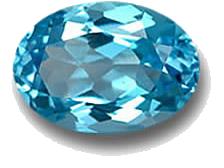 سنگ توپاز آبی سوئیس