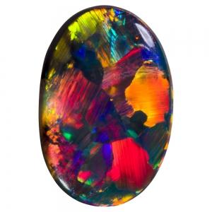 سنگ اوپال رنگارنگ اتیوپی