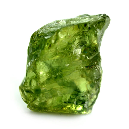 سنگ یاقوت سبز تراش نخورده